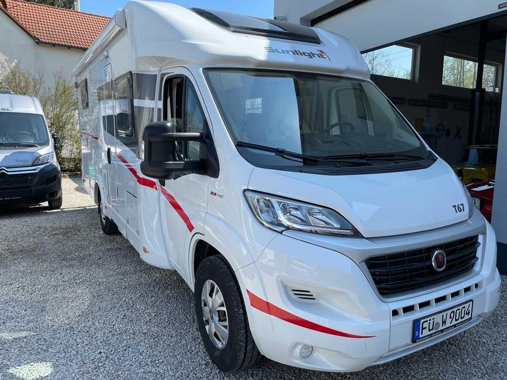 Sunlight T 67 Kaufen Gebrauchte Wohnmobile Aus Vermietung